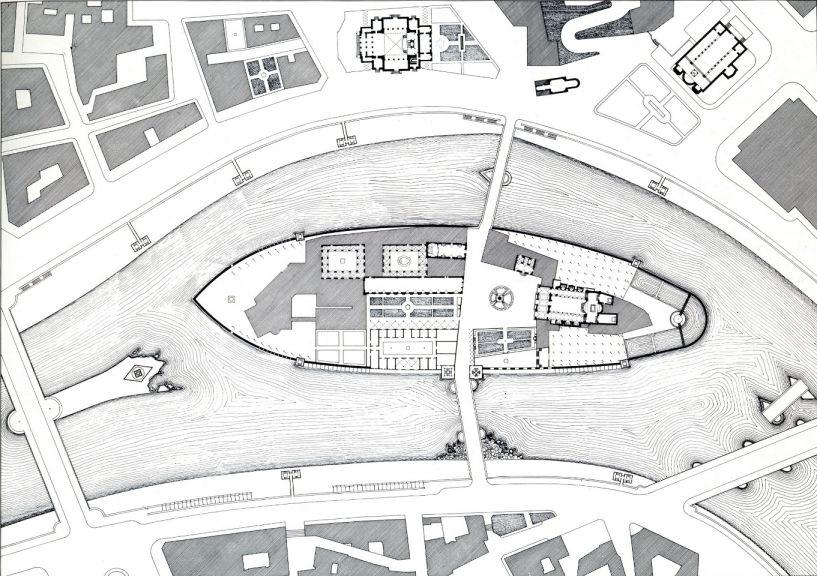 Mostra la nave di pietra for Planimetrie del faro